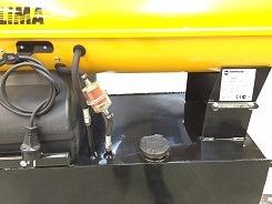 XL olietank 160 L