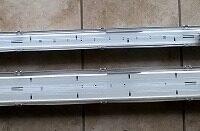 Enkeltarmatur til LED rør 120 cm