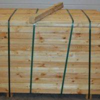 Træstolpe 7x7x150 cm 208 stk
