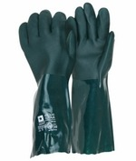 BlueStar PVC-handske 40 cm grøn