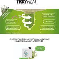 TrayFILM 20 kg. Filmbeskyttelses desinfektion