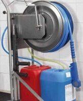 Multi vaskevogn til skum og desinfektion