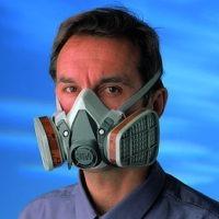 Gasmaske uden briller - 3M